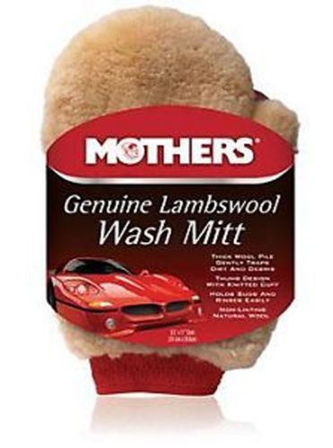 Mothers Genuine Lambswool Wash Mitt